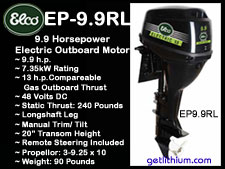 Elco electric outboard motors